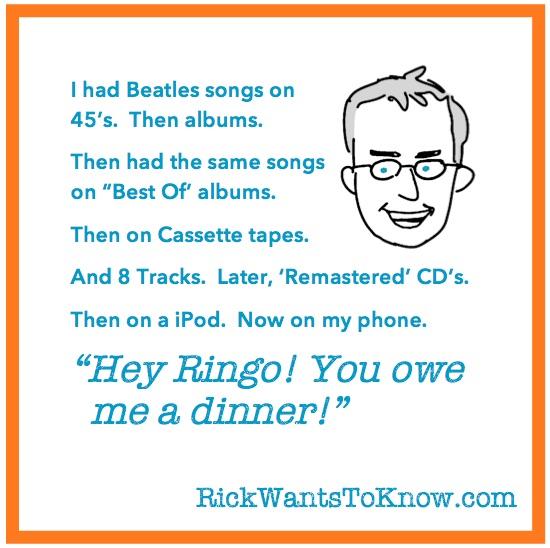 Rick Green Mem - Beatles