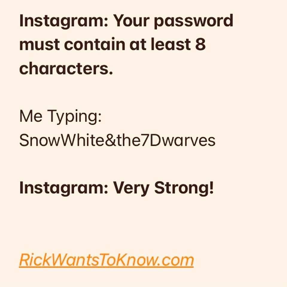 password joke meme